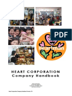 Heart Corporation Japan - Company Handbook