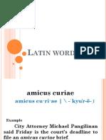 Latin Word2