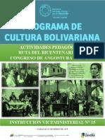 Instrucción Bicentenario Del Congreso de Angostura