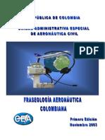 FRASEOLOGUIA AERONAUTICA COLOMBIANA