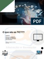 TIC - trabalho o que são as TIC.pdf