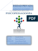 Evaluación Psicodiagnóstica Nicol Yuri