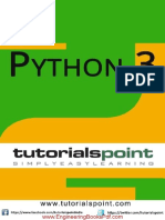 Python 3 Tutorial Point