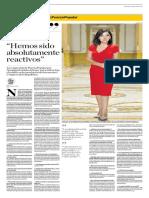 Entrevista El Comercio - Alejandra Aramayo  (03/02/2019)