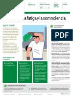 ACHS FT Fatigaysomnolencia