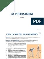 Tema 9. Prehistoria. Sociales 1º ESO
