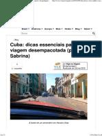 Cuba, Um Guia Básico_ Dicas de Visto, Câmbio, Transporte e Hospedagem Em 3 Cidades _ Viaje Na Viagem