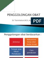PENGGOLONGAN OBAT 2018