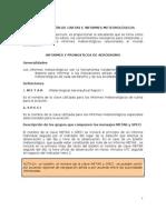 Interpretacion de Cartas e Informacion Meteorologicos
