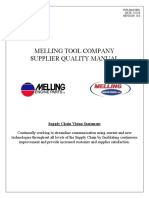 Melling Supplier Quality Manual 5.23.18