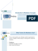Introduction to Mediation Concepts