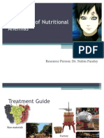 Treatment of Nutritional Anemias
