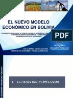 Nuevo Modelo Economico en  Bolivia