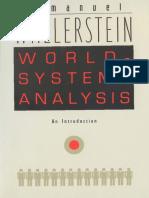 World System Analysis