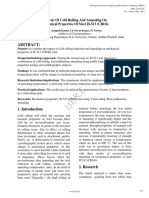 Analysis of Cold Rolling & Annealing on Mechanical Properties of Steel is-513 (CR 06)
