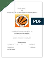 Academic Calendar Full Time Programmes 201819
