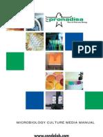 38994420 Microbiology Culture Media Manual