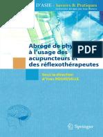 Rouxeville Yves - Abrégé de physiologie à l'usage des acupuncteurs et des réflexothérapeutes