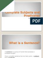 completesubjectsandpredicates-090813160014-phpapp02