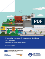 2018 12 19 TfL OOC Stations Potential London Overground Stations Old Oak Response to Issues Raised