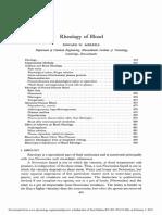 Blood Rheology
