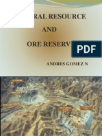 Mineral Resources and Ore