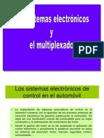 Sistemas Electronicos y Multiplexado