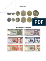 Monedas de Centro America