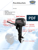 FS060 9.8hp Parsun Outboard Motor