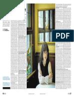 Entrevista a Irene Vallejo en Heraldo de Aragón (3 de enero de 2019)