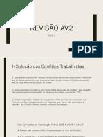 av2 revisão