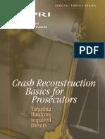 Crash Reconstruction Basics