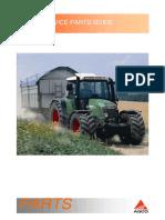 Fendt GFV09 Service Parts Guides