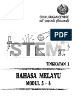 Bm Form 1 Modul 5-8 Cover
