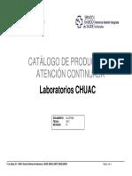 CATALOGO DE PRODUCTOS DE LABORATORIO DE ATENCIÓN CONTINUADA v