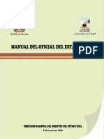 Manual del Oficial del Estado Civil