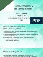 8 - Modulo MSSP y Otros Microcontroladores