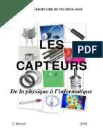 Les Capteurs - De La Physique à l'Informatique