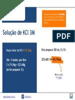 Preparo de Solução kCl 3m