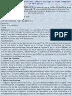 ESTUDIO PROYECTO DE LEY DELITOS INFORMÁTICOS. TRÁMITE LEGISLATIVO
