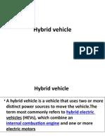 Hybrid Vehicle