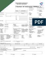 Form Registrasi Kanker RS