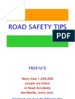 Steps for bringing down Road Accidents