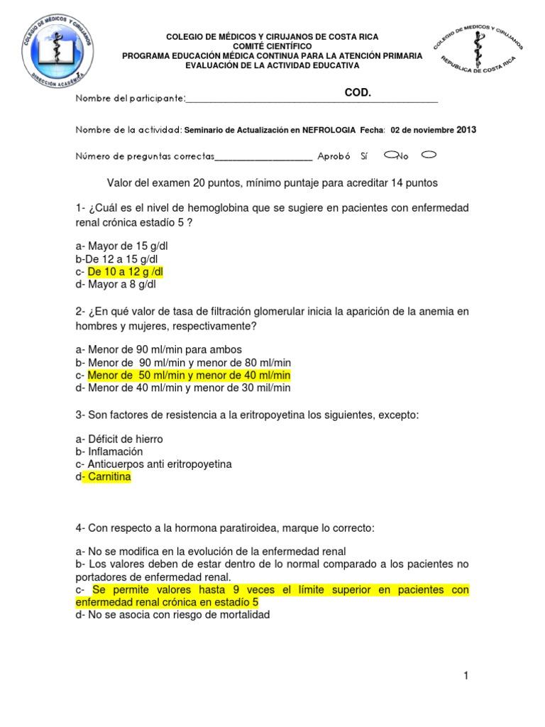 enfermedad renal cronica estadio 5d