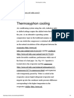 Thermosyphon Cooling