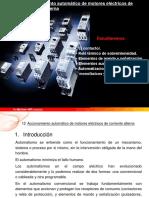 Accionamiento Automatico de Motores Electricos de Corriente Alterna