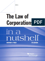 The Law of Corporation in a nutshell