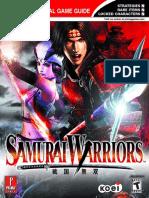 Samurai Warriors Prima Official EGuide