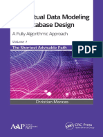 Conceptual Data Modeling and Database Design Volume 1 - The Shortest Advisable Path a Fully Algorithmic Approach