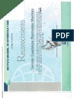 Consatancias Diplomas y Reconocimientos